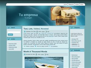 Plantilla wordpress