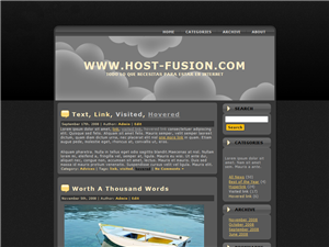 HFBLACK 1.0 Plantilla wordpress gratis
