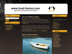 Plantilla WordPress Gratis | Linux 1.0