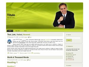 PLANTILLA WORDPRESS GRATIS | EJECUTIVO 1.0