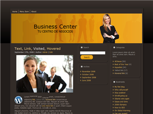Plantilla WordPress Gratis | Business Center 1.0