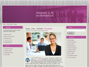 PLANTILLA WORDPRESS GRATIS | AIRPORT 1.0