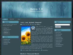 RETRO 1.0 PLANTILLA WORDPRESS GRATIS