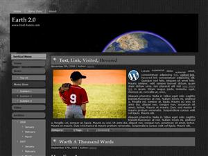 Earth 2.0 WordPress