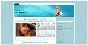 Plantilla wordpress 3.0 Dieta 2.0
