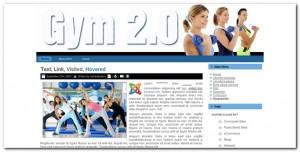 Gym 2.0 Plantilla Joomla Gratis
