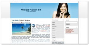 WidgetMaster 2.0 Nueva plantilla para wordpress 3.0