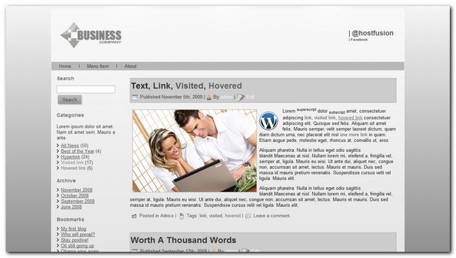 Central Business 2.0 theme premium para wordpress