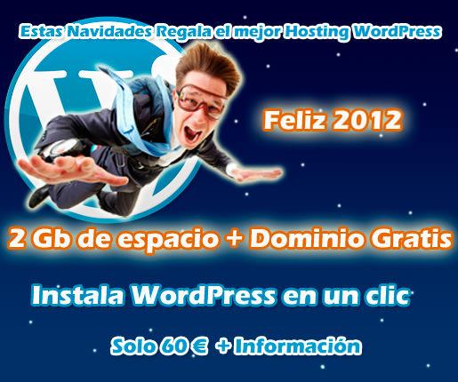 Esta Navidad regala el mejor Hosting WordPress