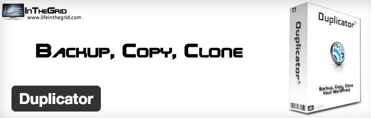 Duplicator, backup, copia y clona WordPress