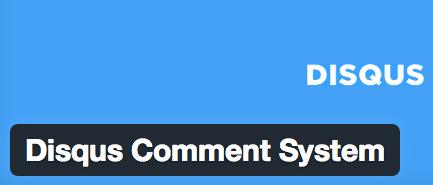 Disqus Sistema de comentarios para WordPress