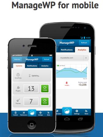 ManageWP para moviles