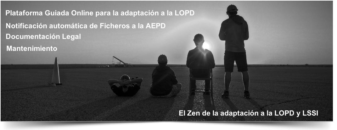 Adaptación a la LOPD y LSSI online