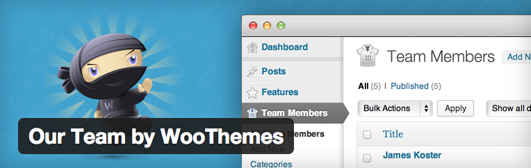 Our team por Woothemes