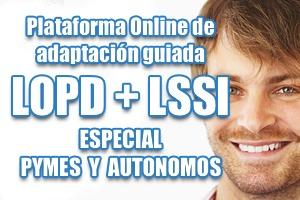 Adaptación a la LOPD y LSSI