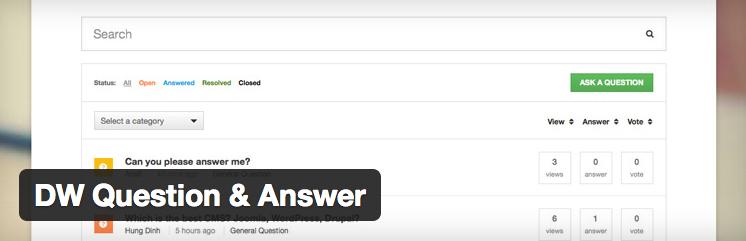 Preguntas y respuestas en WordPress