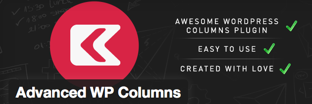 Crear columnas en WordPress