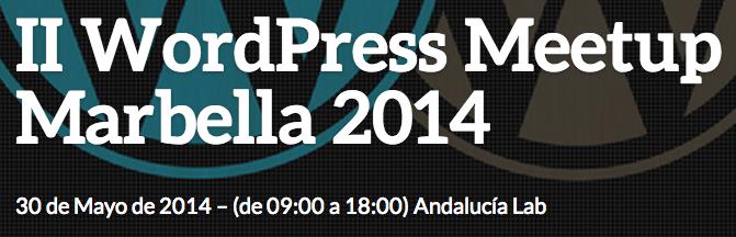 II WordPress Meetup Marbella 2014
