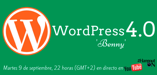 Hangout WordPress 4.0