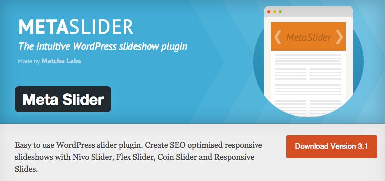 Metaslider para WordPress
