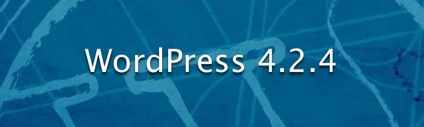 WordPress 4.2.4