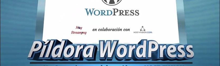 pildoras WordPress