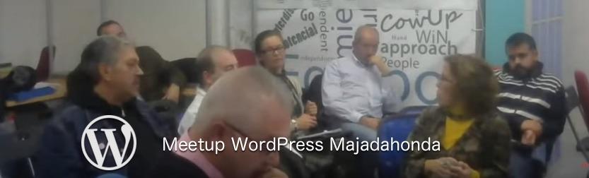 meetup WordPress Majadahonda