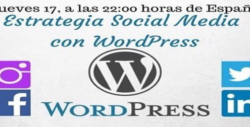 estrategia social media con WordPress