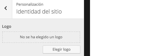 Elegir logo WordPress