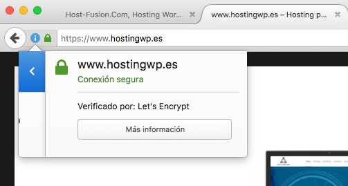 Conexión SSL segura
