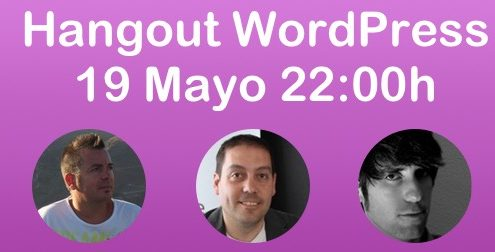 hangout WordPress 19 mayo