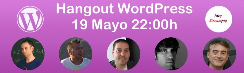 hangout WordPress 19 mayo