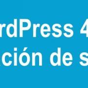 WordPress 4.5.2 actualización de seguridad