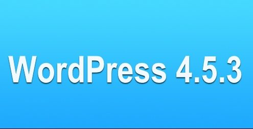 WordPress 4.5.3 actualización de seguridad y mantenimiento