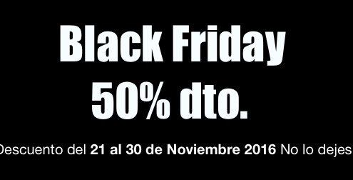 blackfriday cybermonday hostfusion 50% de Descuento del 21 al 30 de Noviembre 2016 No lo dejes escapar