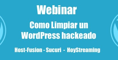 webinar como limpiar un WordPress Hackeado