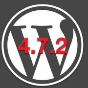 WordPress 4.7.2 actualización de seguridad
