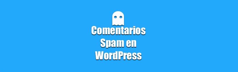 Eliminar comentarios de spam en WordPress en un clic