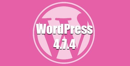Nueva versión WordPress 4.7.4
