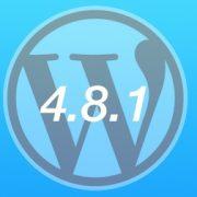 Nuevo WordPress 4.8.1