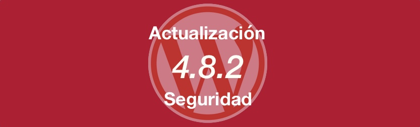 Actualización de Seguridad WordPress 4.8.2