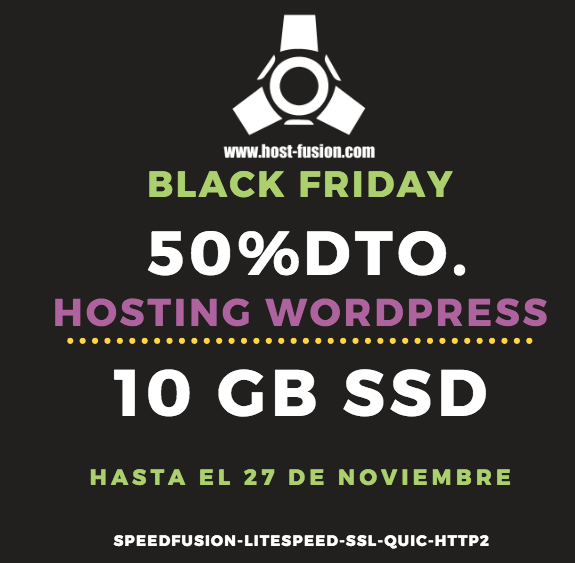 Black Friday 50% Host-Fusion