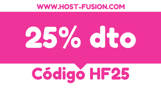 25% dto. Hosting WordPress Host-Fusion