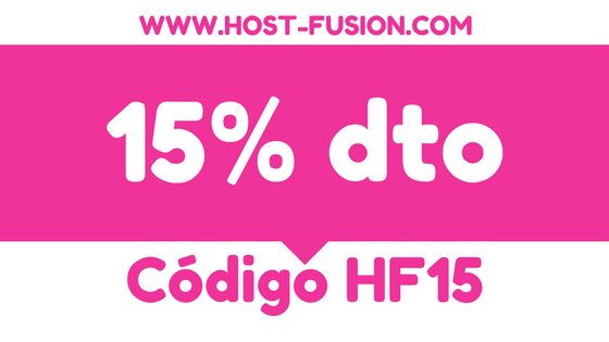15% dto hosting WordPress