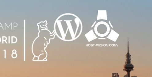 host-fusion patrocinador wordcamp madrid 2018