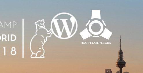 host-fusion patrocinador wordcamp madrid 2018