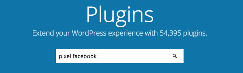 Como insertar el pixel de Facebook en WordPress