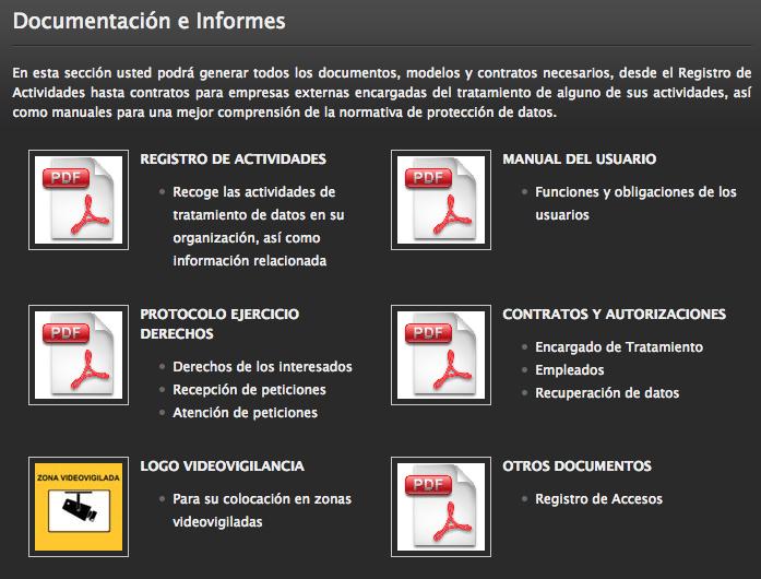 Documentación RGPD