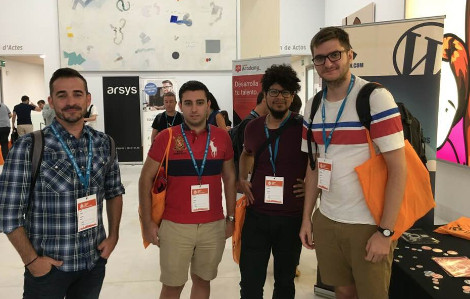 STAND HOST-FUSION WORDCAMP VALENCIA 2018