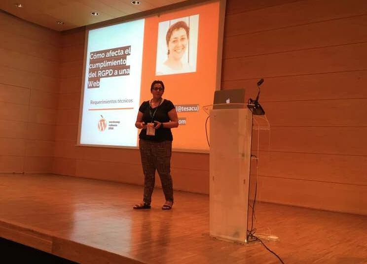 Cómo afecta el cumplimiento del RGPD a una web: requerimientos técnicos Teresa Sáez Cuenca